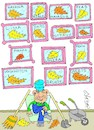 Cartoon: all the leaves of the world (small) by yasar kemal turan tagged all,the,leaves,of,world