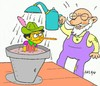 Cartoon: aqueous joke (small) by yasar kemal turan tagged aqueous,joke