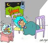 Cartoon: cleaning (small) by yasar kemal turan tagged cleaning