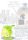 Cartoon: dont go out (small) by yasar kemal turan tagged dont,go,out
