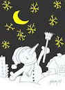 Cartoon: infinite stars (small) by yasar kemal turan tagged infinite,stars