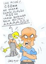Cartoon: parrot torture (small) by yasar kemal turan tagged parrot,torture