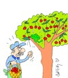 Cartoon: pest control (small) by yasar kemal turan tagged pest,control