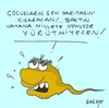 Cartoon: racist (small) by yasar kemal turan tagged racist