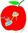 Cartoon: sharp teeth (small) by yasar kemal turan tagged sharp,teeth