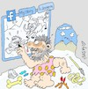 Cartoon: story of a day (small) by yasar kemal turan tagged story,of,day