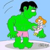Cartoon: vegetable soup (small) by yasar kemal turan tagged vegetable soup hulk love