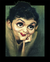 Cartoon: Audrey Tautou (small) by Jeff Stahl tagged audrey,tautou,french,actress,woman,eyes,lips,caricature,jeff,stahl,illustration,freelance
