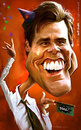 Cartoon: Jim Carrey (small) by Jeff Stahl tagged jim carrey caricature illustration jeff stahl communication freelance cambrai lille nord