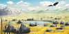 Cartoon: Freedom (small) by alesza tagged digital digitalart digitalpainting eagle environment freedom landscape nature painting procreate ipadart