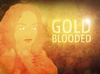 Cartoon: GOLDBLOODED (small) by alesza tagged goldblooded,unikatdesign,illustration,digital,art,painting,photoshop,portrait,gold,yellow,orange