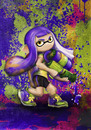 Cartoon: Inkling (small) by alesza tagged fan,art,splatoon,splatoonart,inkling,inklinggirl,girl,colourful,colorful,videogame,computergame,game,fanart,unikatdesign,ink,nintendo,nintendofanart,digitalart,digitalpainting,painting,artwork,digitalillustration,digitaldrawing
