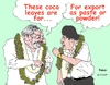 Cartoon: Lula da Silva and Evo Morales (small) by Fusca tagged latin,america,drug,corruption,traffic,political,empire,exploration,bolivarian,socialism
