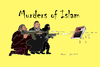 Cartoon: Murders of Islam (small) by Fusca tagged jihad,extremists,terror,freedom,expression,islam