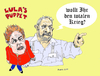 Cartoon: Rousseff is DaSilva s puppet (small) by Fusca tagged luladasilva,rousseff,dictatorship,communism,corruption,terrorists,narcoterror