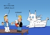 Cartoon: Luchsyacht (small) by ChristianP tagged yacht,luchs