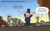 Cartoon: the great houdini (small) by ChristianP tagged the,great,houdini