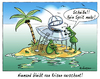 Cartoon: Energiekrise (small) by rpeter tagged außerirdische,all,insel,inselwitz,krise