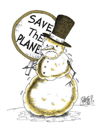 Cartoon: Save the planet!!! (medium) by Ramses tagged melting