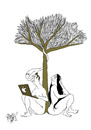 Cartoon: Adam and the Apple! (small) by Ramses tagged adam,and,eve