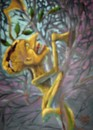 Cartoon: Forestman (small) by boa tagged painting,cartoon,boa,comic,humor,romania,funny