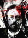Cartoon: Anton Pavlovich Chekhov (small) by Zoran Spasojevic tagged anton,pavlovich,chekhov,portrait,digital,man,paske,emailart,spasojevic,zoran,kragujevac,serbia,collage,writer
