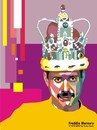 Cartoon: Freddie Mercury (small) by Joen Yunus tagged illustration,portrait,pop
