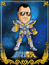Cartoon: Rene Garcia - Actor de Doblaje (small) by Neokoi tagged rene,garcia,caballeros,del,zodiaco,saint,seiya,cartoon,actor,de,doblaje,neokoi,caricatura