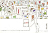 Cartoon: Art Maze (small) by helmutk tagged art