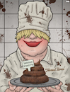 Cartoon: Boris Johnson (small) by Tjeerd Royaards tagged uk,lies,lying,court,brexit,boris