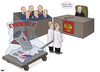 Cartoon: MH17 Investigation (small) by Tjeerd Royaards tagged mh17,russia,ukraine,putin,airplane,crash,missile,tribunal