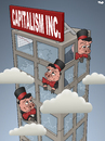 Cartoon: Not a Structural Crisis (small) by Tjeerd Royaards tagged capitalism,crisis,economy,money,euro,dollar,profit,recession
