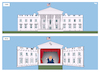 Cartoon: Puppet Show (small) by Tjeerd Royaards tagged usa,trump,white,house,theater,theathre,puppet,show
