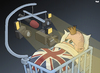 Cartoon: Royal Baby Royally Screwed (small) by Tjeerd Royaards tagged media,hype,uk,baby,royalty,journalism