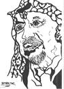 Cartoon: YASER ARAFAT (small) by Seydi Ahmet BAYRAKTAR tagged yaser,arafat