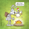 Cartoon: Corona-Ostern (small) by Rovey tagged ostern,hase,osterhase,huhn,nest,ei,osterei,corona,virus,covid19,osterfeiertage,feiertage,2020,osterfest,frühling,krise,infektion,epidemie,pandemie,infektionsrisiko,krankheitserreger