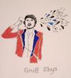 Cartoon: Gruff Rhys (small) by popmom tagged musician