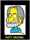 Cartoon: MATT GROENING CARICATURE (small) by QUEL tagged matt,groening,caricature