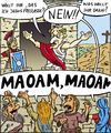 Cartoon: 1vobobild010 (small) by VoBo tagged jesus,römer,bibel,soldaten