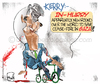 Cartoon: Kerry (small) by Lacosteenz tagged cease,fire