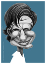 Cartoon: Roger Federer (small) by pincho tagged tenis,roger,federer,deporte,tenista,caricaturas,suizo,nike