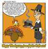 Cartoon: Thanksgiving (small) by Gopher-It Comics tagged gopherit ambrose turkey thanksgiving pilgrim