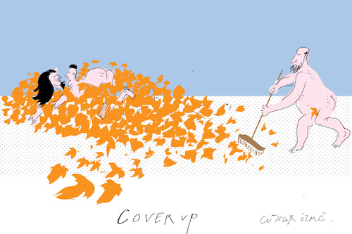Cartoon: Cover up (medium) by gungor tagged nature