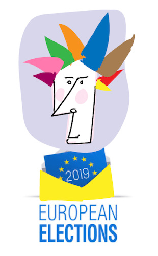 Cartoon: European Election 2019 (medium) by gungor tagged eu,eu