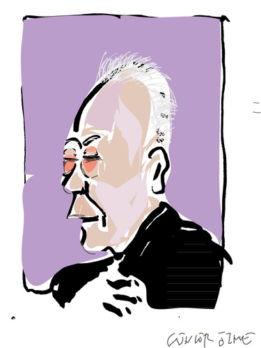 Cartoon: Lee Kuan Yew (medium) by gungor tagged singapore