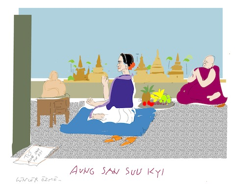 Cartoon: Rohingya (medium) by gungor tagged burma