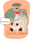 Cartoon: Eid al-Adha (small) by gungor tagged middle,east