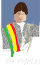 Cartoon: Evo Morales (small) by gungor tagged bolivia