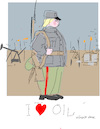Cartoon: I love your oil (small) by gungor tagged middle,east