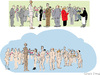 Cartoon: ICloud (small) by gungor tagged photo
